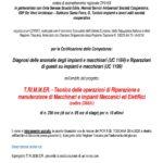 T.RI.M.M.ER. – Tecnico delle operazioni di RIparazione e manutenzione di Macchinari e impianti Meccanici ed ElettRici